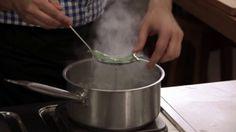 How to boil green vegetables on Vimeo