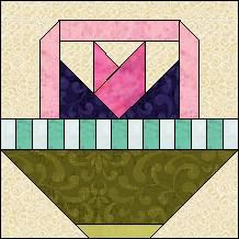 Block of Day for April 05, 2014 - English Ivy Basket