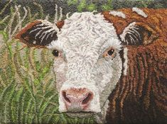 Rug Hooking Magazine - Traditional Rug Hooking Patterns, Primitive Rugs, Inspiration and Wool Yarn, Wool Rug, Rug Hooking Patterns, Rug Patterns, Tatting Patterns, Hereford Cows, Monks Cloth, Hand Hooked Rugs, Needle Book