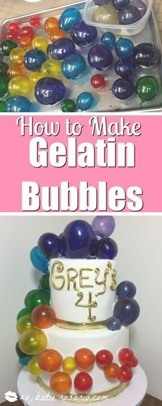 I love this technique I was always so scared to do this! But this tutorial makes it so easy! It does take some time to make but once I got in the groove so much fun! The party guests loved the edible bubbles! cake decorating tips and tricks #cakedecoratingtechniques