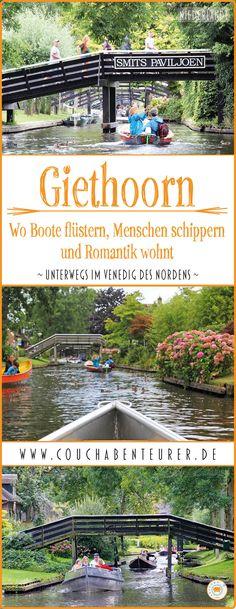Der Ort Giethoorn bezaubert mit seinem Charme, nimmt mit auf eine Reise durch die Zeit und lässt den hektischen Alltag vergessen. Warum Boote hier flüstern, die Menschen schippern gehen und wie romantisch dieser Ort ist, verrate ich dir in meinem Beitrag.