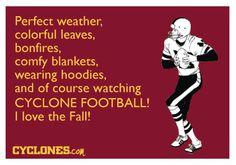 Fall=Cyclone Football!