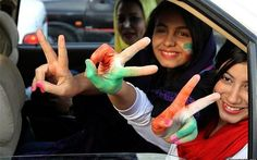 World Cup ban? Iran's women just don't care Iranian women aren't allowed to enter national stadiums or gather with men to watch sport in public. But many have defied the authorities during the World Cup, cheering on their team in local restaurants. Claire Cohen reports