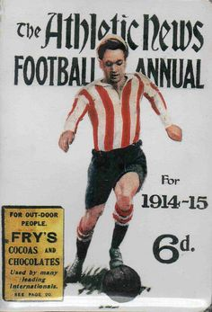 The Athletic News Football Annual for 1914-15.