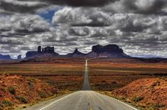 This is Monument Valley as seen from Utah, looking south on U.S. Route 163 from about 10 - 15 miles north of the Arizona/Utah State line Beautiful Photos Of Nature, All Nature, Nature Photos, Beautiful World, Beautiful Places, Beautiful Scenery, Amazing Photos, Amazing Places, Beautiful Landscapes