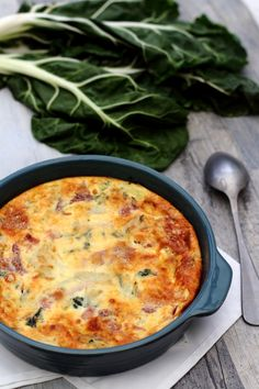 Swiss chard flan and parmesan gratin - Amandine Cooking Cheese Soup, Ham And Cheese, Macaroni And Cheese, Cooking Swiss Chard, Parmesan Crusted Tilapia, Good Food, Yummy Food, Healthy Menu, Soup Recipes