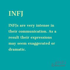 INFJs are very intense in their communication Infj Traits, Infj Mbti, Intj, Infj Personality, Personality Psychology, Infj Type, Introvert Problems, Salud Natural, Frases