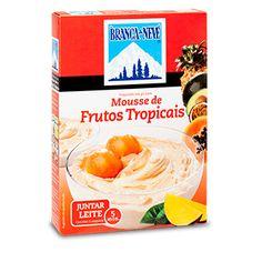 Mousse sabor a Frutos Tropicais Branca de Neve