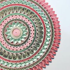 I am working on the biggest mandala I have ever had - Best Paper Quilling Designs Neli Quilling, Quilling Images, Paper Quilling Cards, Quilling Work, Paper Quilling Patterns, Quilling Jewelry, Quilling Craft, Quilling Ideas, Paper Quilling For Beginners