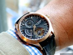CARL F. BUCHERER MANERO TOURBILLON LIMITED EDITION. ONLY 188 PIECES