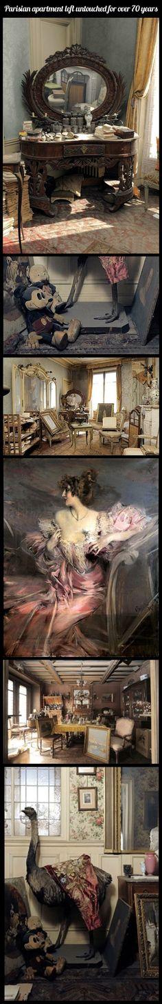 The Paris Time Capsule Apartment…
