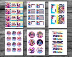 ♥ Welcome to PartyDesignPrint Workshop! ♥ PRINTABLE DIGITAL FILE No physical product will be sent. This Barbie Spy Squad Birthday package including everything you need t...