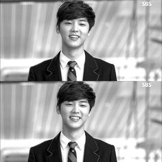 quite possibly the best smile I have EVER seen <3 Kang Min Hyuk - CNBlue - The Heirs