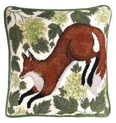 The Spring Fox Tapestry Cushion Panel Kit is a brilliant choice for anyone who loves being immersed in nature from the comfort of their front room.