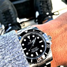 Black on black Submariner No Date $6100 Come get yours quick