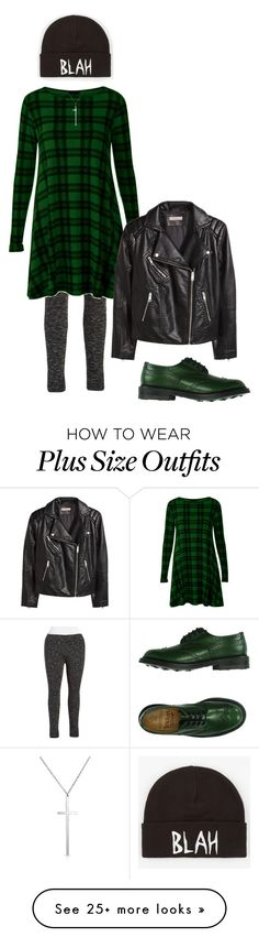 """Blah"" by perpetto on Polyvore featuring Marc New York, H&M, Tricker's, Volcom, Bling Jewelry and plus size clothing"
