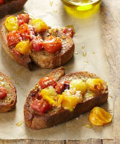 With a simple breakfast toast like this one, you want to use the best ingredients available to you. Get a really good bread, brush it with really good olive oil, buy some bright ripe tomatoes, and use nice anchovies packed in olive oil. Every bite will be worth it.