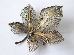 Mine: And contrasting my complimentary colors and materials; Filigree Jewelry, Leaf Jewelry, Silver Filigree, Jewelry Sets, Antique Jewelry, Silver Jewelry, Women Jewelry, Complimentary Colors, Leaf Art