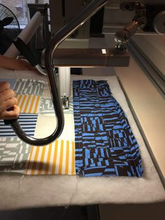 Blake knit quilting on a longarm . Shirt Quilt, Quilt Making, Knitted Fabric, Quilting, My Love, Tees, Pattern, Projects, Design