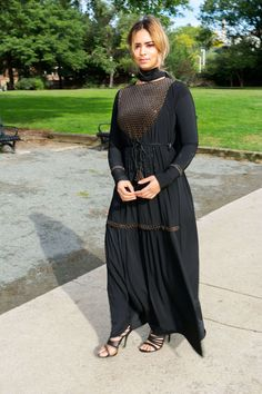 Vintage Mariana Dress Abaya