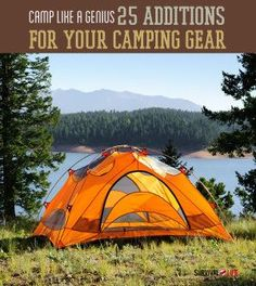 25 Additions To Your Camping Gear