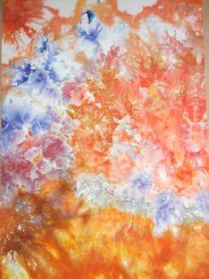 Carol R Eaton Designs: Ice Dyed Fabric