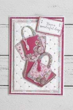 Chloes Creative Cards Craft, Cardmaking and Papercraft Supplies Special Birthday Cards, Birthday Cards For Women, Scrapbook Cards, Scrapbooking, Chloes Creative Cards, Stamps By Chloe, Create And Craft Tv, Chloe Fashion, Wonderful Day