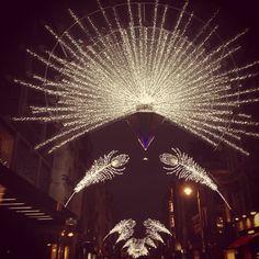 Christmas lights in London!