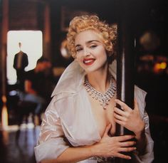 Madonna by Helmunt Newton.  Vanity Fair April 1990