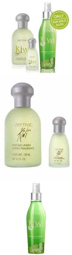 Zermat Perfum Unisex Kiwi Clasico ,Perfume Para Dama Y Caballero PERFUM UNISEX KIWI CLASICO 4.2oz. FERFUME UNISEX KIWI   120ML. FREE MINI FRAGRANCE 0.5OZ. MINI FRAGANCIA KIWI GRATIS, 15ml. GRATIS BODY SPLASH,FREEBODY SPLASH 6.8 fl. oz.  #Zermat_International #Beauty