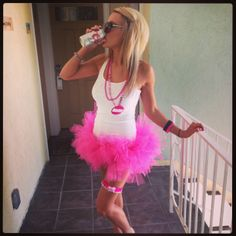 Make sure you dress like a whore at your bachelorette party. Or ... whenever, I guess.