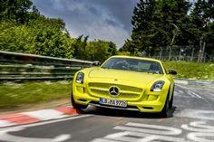 Mercedes-Benz SLS AMG Electric Drive lap record - European Car, By Toni Avery