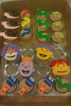 sid the science kid cupcakes