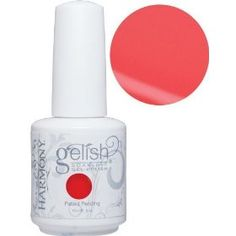 """Gelish Rio Collection Neon """"Tiki Tiki Laranga"""" Just bought this color and LOVE it!!!! Come on summer!"""
