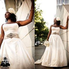 Real {Atlanta} Wedding: Armand + Esenam