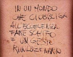 Star Walls - Scritte sui muri. — Azione sovversiva