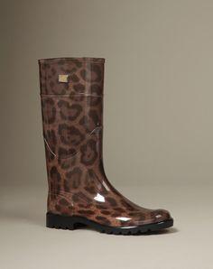 las perfectas botas de lluvia Dolce