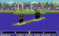 On instagram by salagiochi1980 #c64 #microhobbit (o) http://ift.tt/2f8XUh8 GAMES - Epyx 1986 #worldgames #epyx #commodore64  #cbm64 #commodore #8bit #homecomputer #retrogames #retrogaming #videogames #videogiochi #games #game #gaming #salagiochi1980 #salagiochi #nostalgia #memories #pixel #pixels #datassette