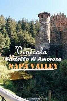 Um passeio pela vinícola Castello Di Amora, que fica situada em Napa Valley, uma das regiões de vinhos mais famosas da Califórnia e dos Estados Unidos