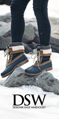 Wherever you're headed this holiday season, we've got boots (or like 5!) you'll love! Check out the Cougar Creek Duck Boot for $79.99 at DSW.COM.