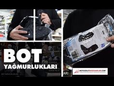 Bot Yağmurlukları ile Islanmadan Rahat Sürün