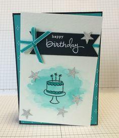 Lissa Carter Independent Stampin' Up! Demonstrator: INKspired Blog Hop #023 - Endless Birthday Wishes
