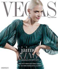 Jaime King in Dolce&Gabbana for Vegas Magazine September