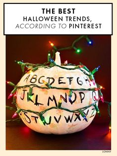 The best Halloween trends on Pinterest.