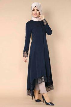 Blue blue dress ✨ Simple Pakistani Dresses, Pakistani Fashion Casual, Abaya Fashion, Muslim Fashion, Fashion Dresses, Hijab Evening Dress, Hijab Style Dress, Mode Abaya, Hijab Fashionista