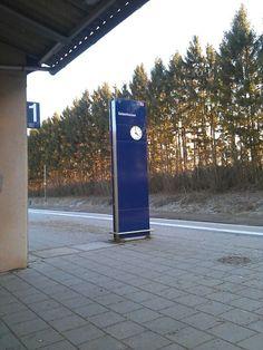 Bahnhof Geisenhausen in Geisenhausen, Bayern
