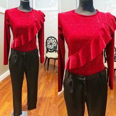 #body #velluto #glitterato #pantaloni #morbidi #pinces #valeria #abbigliamento
