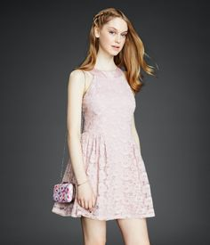 Floral Lace Dress, online only!