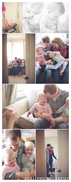 family portrait photos twins babies lifestyle session bath story time bed