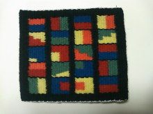 From my blog. Flemish weaving. A sample.